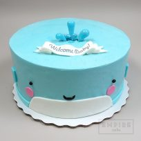 Empire Cake Collection Whale Shower