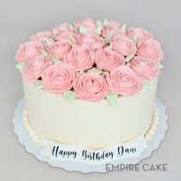 Buttercream Roses (colors customizable)