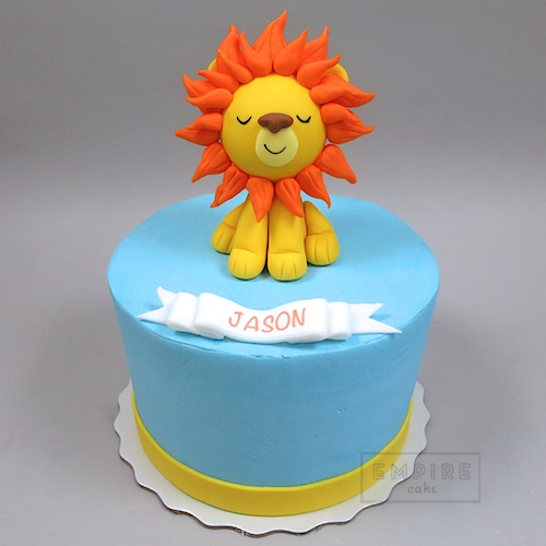 Pleasing Lion Cub Empire Cake Funny Birthday Cards Online Aboleapandamsfinfo