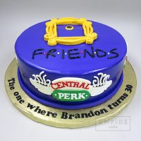 Friends (fondant-covered version)