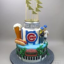Stadium Cake (Chicago Cubs)