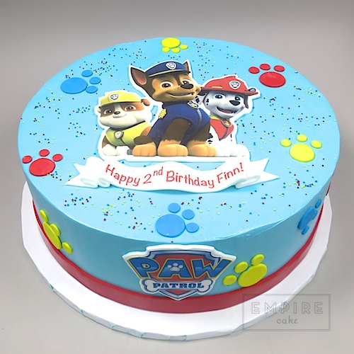 Paw Patrol Edible Image Version Empire Cake