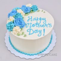 Buttercream Flowers – Blues & White