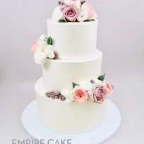 Buttercream with Roses & Lilacs