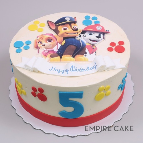 Empire Cake Collection Paw Patrol Edible Print Empire Cake