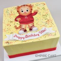 Daniel Tiger (edible print cut out)