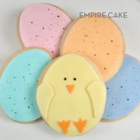 Fondant-Decorated Sugar Cookies