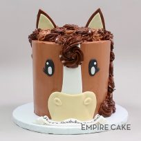 Horse with Buttercream Mane
