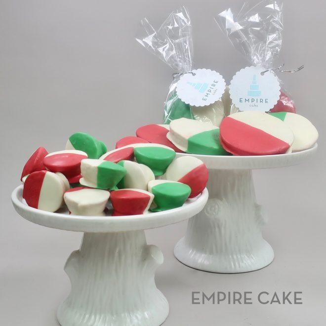 """Custom Color """"Black-and-White"""" Cookies"""