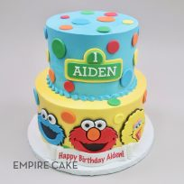 Sesame Street with Polka Dots (two tier)