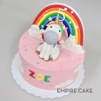 Unicorn and Rainbow Topper