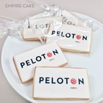 Corporate Logo Edible Print Sugar Cookies Rectangular