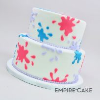 Fondant Paint Splotches