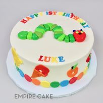 Hungry Caterpillar (fondant decoration)
