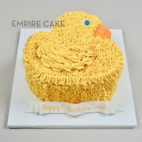 Rubber Ducky (piped buttercream)