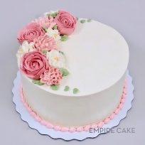 Buttercream Flowers – Roses & Pink