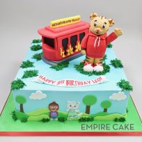 Daniel Tiger and Trolley (3D toppers)