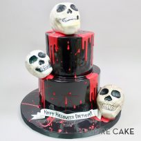 Halloween Skull Birthday