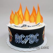 Hard Rock Birthday (edible print)