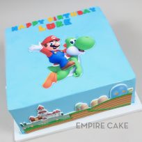 Super Mario Bros (edible print cut-outs)