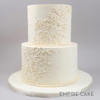 Buttercream Brushed Embroidery