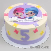 Empire Cake Collection Shimmer & Shine Edible Print