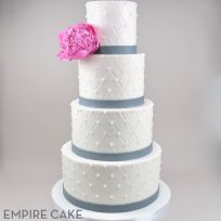 Quilted Tiers and Pink Peony