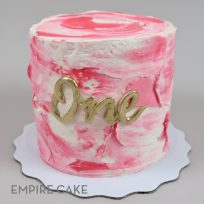 Pretty in Pink Textured Buttercream