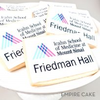 Edible Print Rectangular Cookies