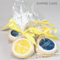 Edible Print Cookies Package with Ribbon