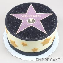 Hollywood Walk of Fame Cake