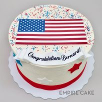 American Flag (edible print)