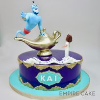 Birthday Genie and Lamp (Aladdin)