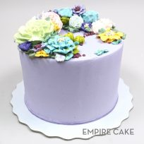 Buttercream Flowerscape