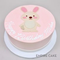Bunny and Band (flat fondant)