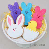 Easter Bunny, Chick and Peeps