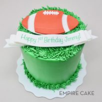 Football and Field (flat fondant)