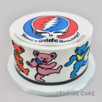 Grateful Dead (edible print wrap)