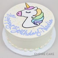 Rainbow Unicorn (edible print)