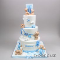 Teddy Bear Birthday (three tier)