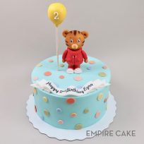 Daniel Tiger Topper with Balloon