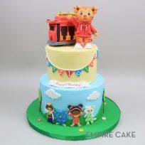 Daniel Tiger and Trolley (two tier)
