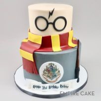 Harry Potter Glasses and Scarf (two tier)