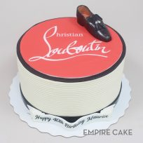 Louboutin Shoe and Logo
