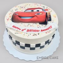 Lightning McQueen (Cars edible print)