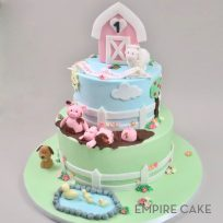 Pastel Farm (two tier)