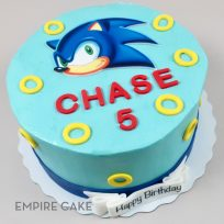 Sonic the Hedgehog (edible print)