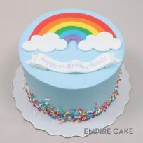 Fondant Rainbow and Sprinkles