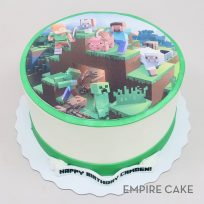 Minecraft (edible print)