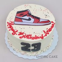 Nike Air Jordan (edible print)